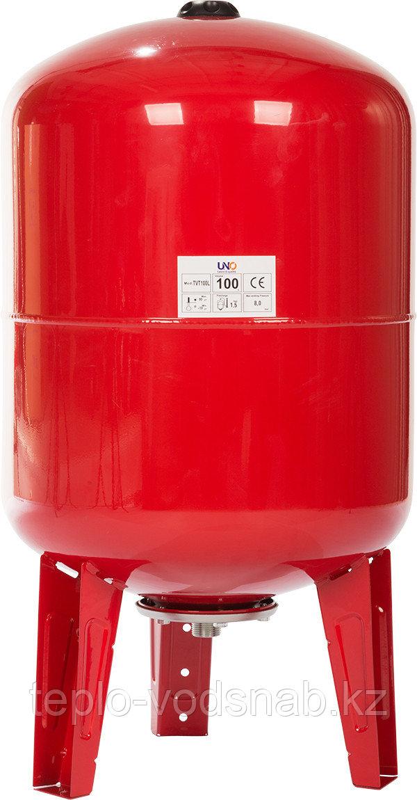 Бак 100 л мембранный расширительный для отопления