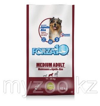 Forza10 Maintenance medium, Форца10 с ягненком и рисом для средних и крупных пород, уп. 12,5 кг.