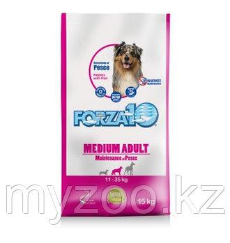 Forza10 Medium Maintenance pesce, Форца10 корм из рыбы для собак средних пород, уп. 15кг.