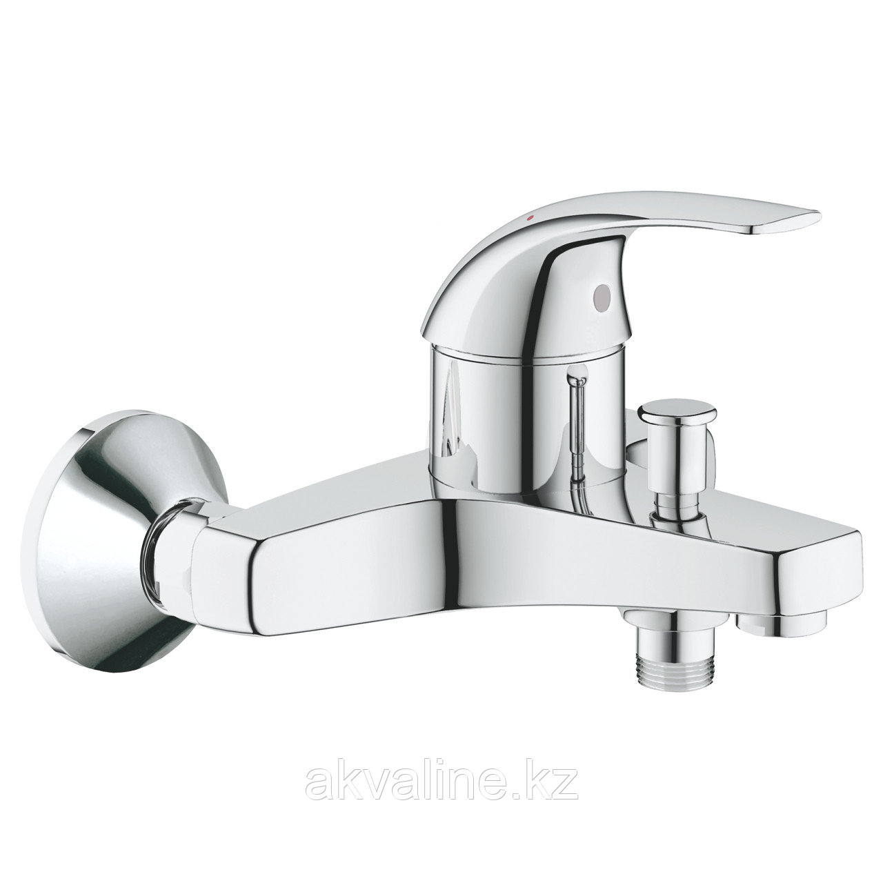 Grohe BauCurve Смеситель для ванны однорычажный, DN 15 32806000
