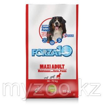 Forza10 Maxi maintenance, Форца10 корм из оленины с картофелем для собак крупных пород, уп. 15кг.