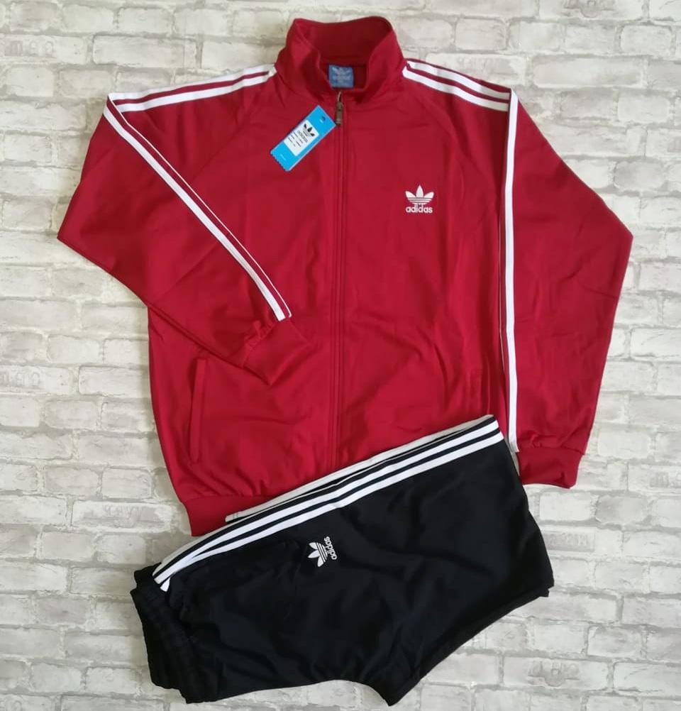 Спортивный костюм Adidas (Турция 🇹🇷) (большие размеры 3 - 5XL)