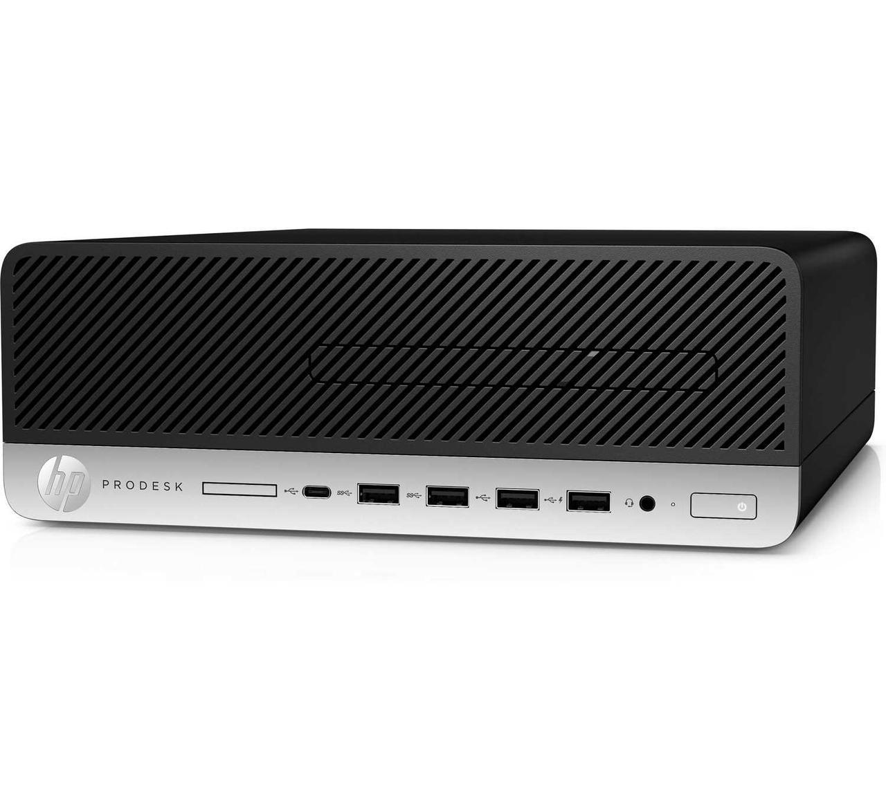 КомпьютерHP Prodesk 600G3SFF / Platinum / i7-7700 / 16GB / 512GB SSD / DOS / No ODD / 3yw / USB Slim kbd / mo