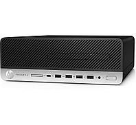 КомпьютерHP Prodesk 600G3SFF / Platinum / i7-7700 / 16GB / 512GB SSD / DOS / No ODD / 3yw / USB Slim kbd / mo, фото 1