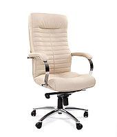 Кресло офисное для руководителя экокожа CHAIRMAN 480