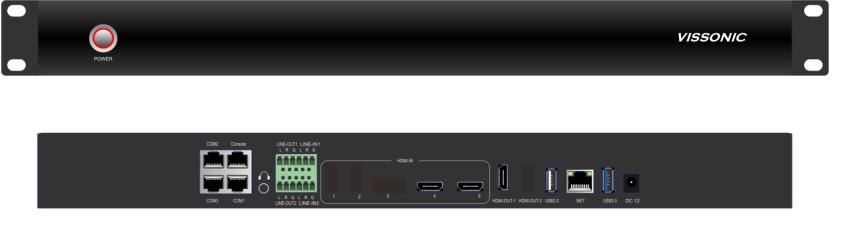 Многоканальный видеорекордер Vissonic VIS-CRS02-A
