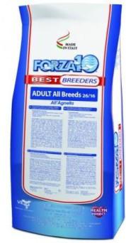 Forza10 Adult All Breed agnello/mcaps (2616), Форца10 корм для всех пород с ягненком и микрокапсулами, уп.20кг