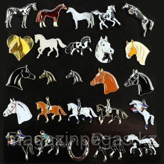 Значки лошадки