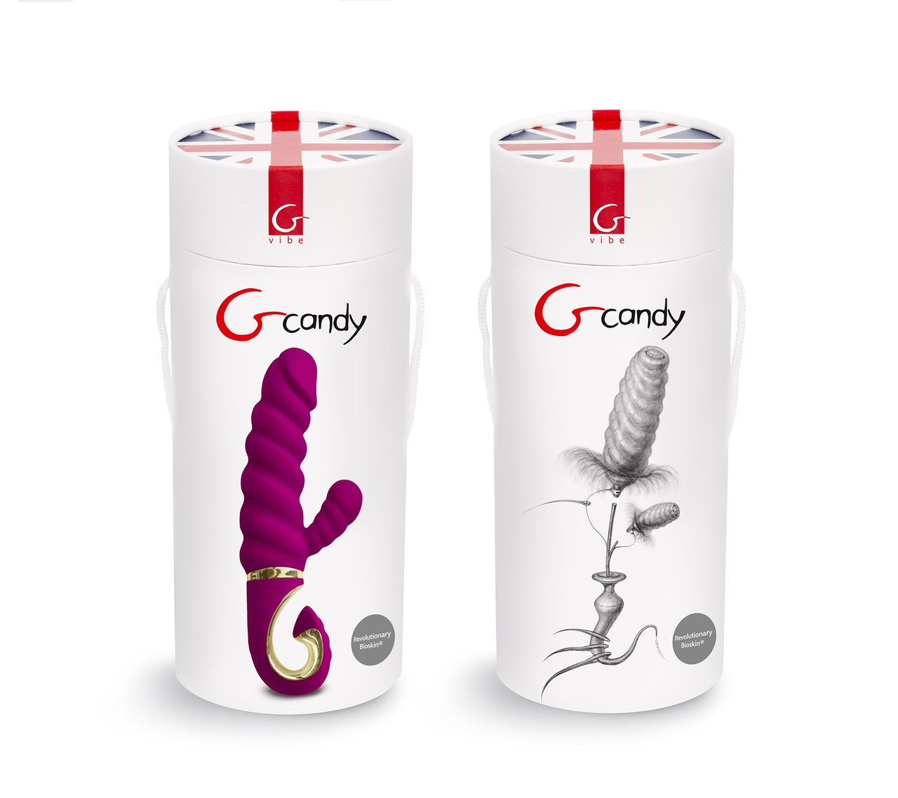 Вибратор Gvibe Gcandy - Sweet Raspberry, 18 см
