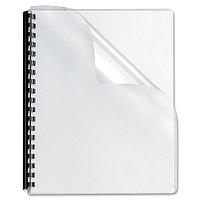 Обложка ПВХ прозрачная глянец iBind А4/100/150mk прозрачная