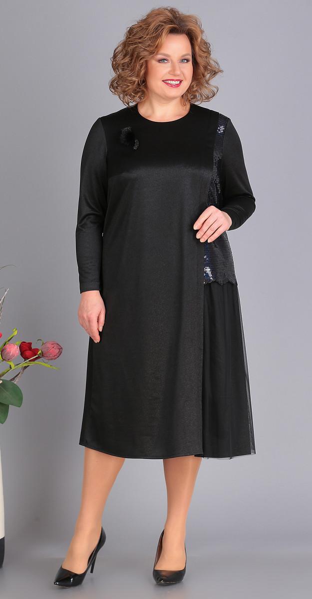 Платье Novella Sharm-3389, черный, 68