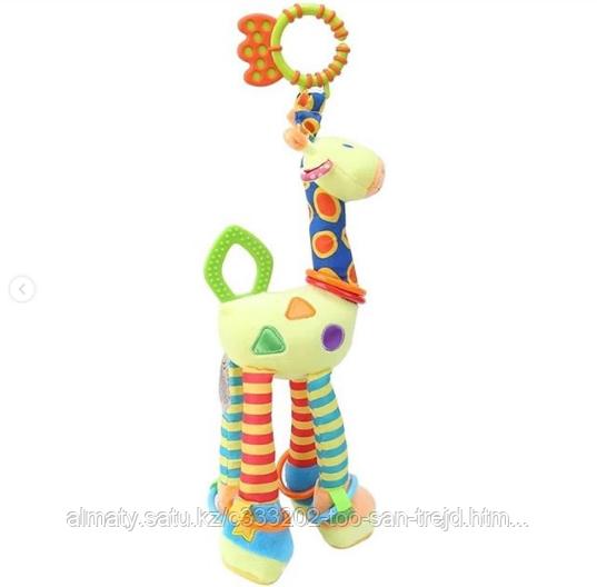 Развивающая игрушка  ЖИРАФ HAPPY MONKEY!!!