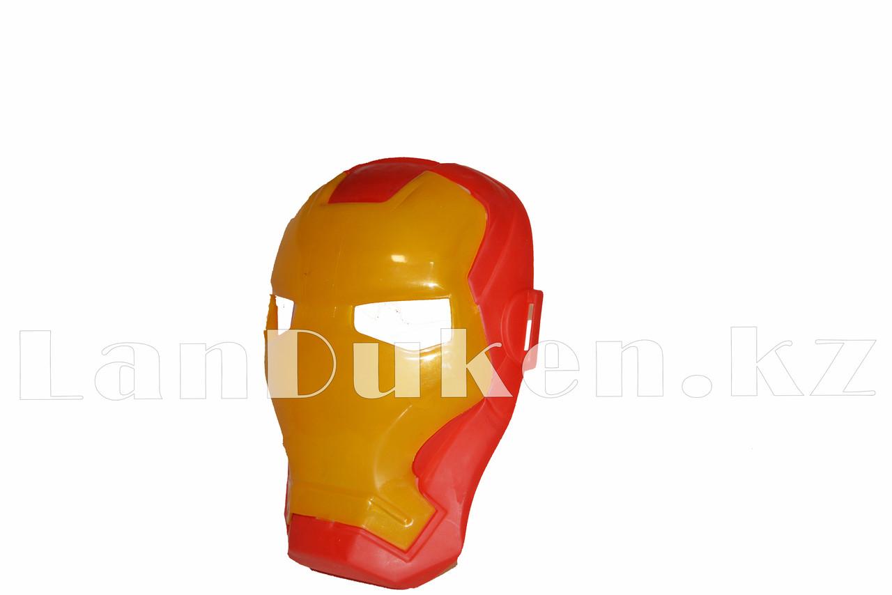 Набор детская маска и фигурка Железный человек 15 см серия Мстители - фото 7