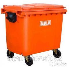 Крупногабаритный контейнер для мусора на 660 литров.Иран.