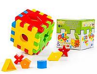 """Развивающая игрушка """"Волшебный куб"""" 12 эл. в коробке"""