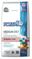 Forza10 Medium Diet, Форца10 корм для средних пород собак с ягненком, уп.12кг.