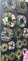 Рождественский Еловый венок 60 см