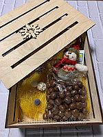 Коробка подарочная деревянная 24:34:10см