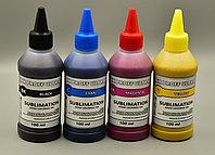 Чернила сублимационные InkProff, набор из 4 штук