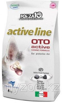 Froza10 Oto Active, Форца 10 диетический корм для собак для защиты слухового аппарата, 10кг.