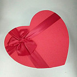 Подарочные коробочки в форме сердца 27*21 см, фото 2