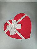 Подарочные коробочки в форме сердца 21*19 см, фото 2
