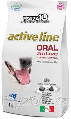 Forza10 Oral Active, Форца10 диетический корм для собак для защиты полости рта, уп. 4кг.