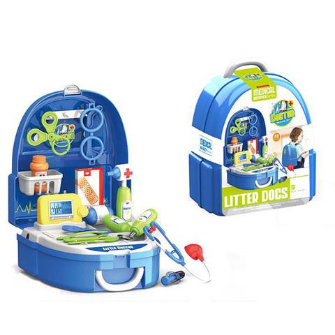 Игровой набор для девочек в чемодане-рюкзаке VANYEH (Доктор)