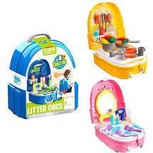 Игровой набор для девочек в чемодане-рюкзаке VANYEH (Доктор), фото 2