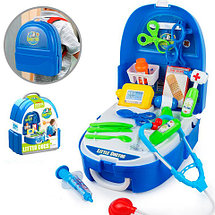 Игровой набор для девочек в чемодане-рюкзаке VANYEH (Доктор), фото 3