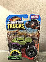 Mattel Hot Wheels  FYJ44 Хот Вилс MONSTER JAM машинки 1:64 (HULK)