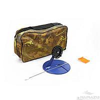 Набор жерлиц Namazu d-190 мм, катушка 90 мм в квадратной сумке