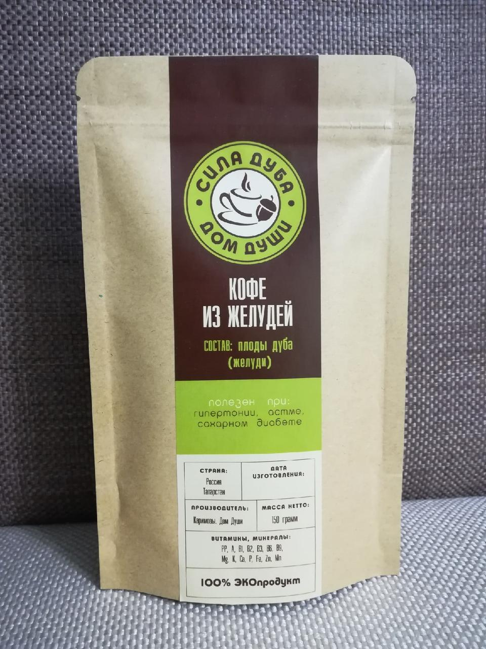 """Кофе из желудей """"Сила Дуба"""", 150 г"""