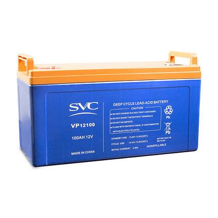 Батарея SVC свинцово-кислотная VP12100 12В 100 Ач, фото 2