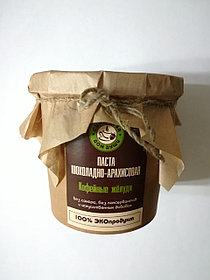 """Натуральная Шоколадно-арахисовая паста с ЖЕЛУДЯМИ """"Сила Дуба"""", 350 г"""