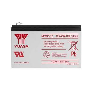 Батарея Yuasa NPW 45-12 свинцово-кислотная 12В 9 Ач, фото 2