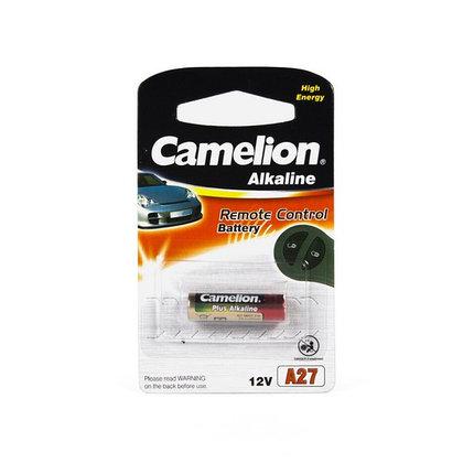 Батарейка Camelion A27-BP1 12V, 16 mAh, 1 шт., фото 2
