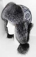 Ушанка жен Nazarkov, s Furs песец