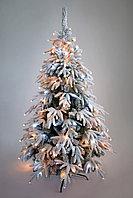 Новогодняя елка Green Trees Заснеженная Фьерро Премиум 2.4 м