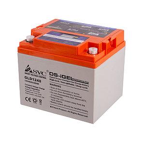 Батарея SVC GLD1240 гелевая 12В 40 Ач LED-дисплей, фото 2