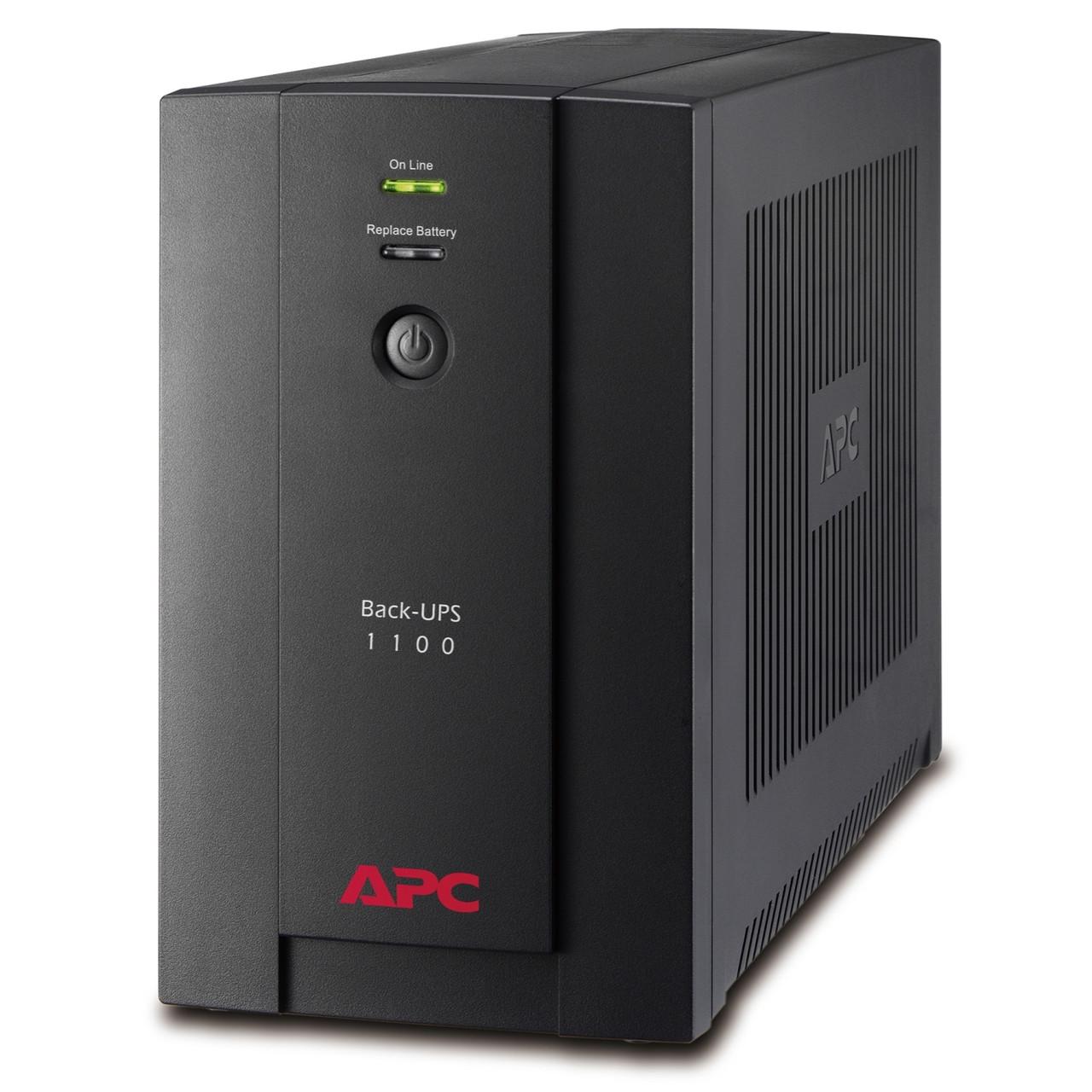 APC BX1100LI ИБП  Back-UPS 1100 ВА/550Ватт, 230 В, авторегулировка напряжения, розетки IEC