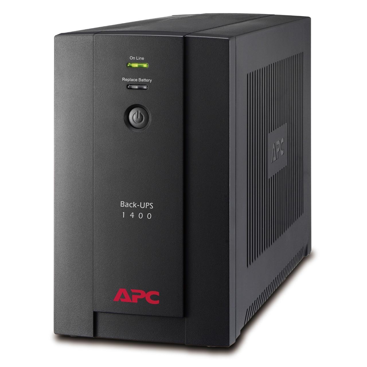 APC BX1400UI ИБП Back-UPS 1400 ВА, 700Ватт,  230 В, авторегулировка напряжения, разъемы IEC