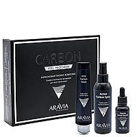 Карбоновый пилинг-комплекс Carbon Peel Program, ARAVIA Professional