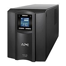 APC SMC1000I ИБП Smart-UPS C 1000 ВА, 600Ватт,  ЖК-экран, 230 В