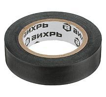 Изолента ВИХРЬ (19mm*20m*0,15mm) чёрный