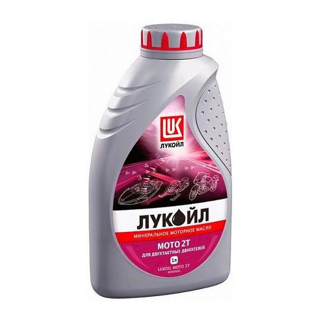Масло для двухтактных двигателей ЛУКОЙЛ МОТО 2Т