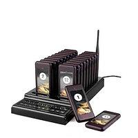 Беспроводная система оповещения и вызова клиентов и гостей с 20 пейджерами, фото 1