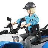 Полицейский квадроцикл с фигуркой Bruder 63-010, фото 3