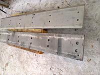 Нож, кромка режущая ковша погрузчика XCMG LW300 , 2460х320х25мм
