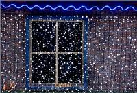 """Гирлянды светодиодные, новогодние, уличная LED гирлянда """"ШТОРКИ ЗАНАВЕС"""" длина: 2-6 метров"""